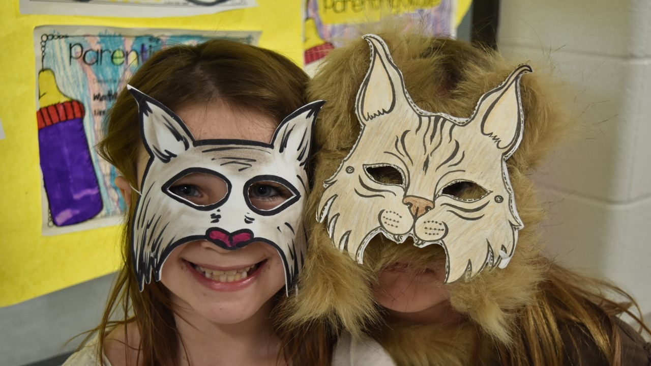 students at the Animal Wax Museum