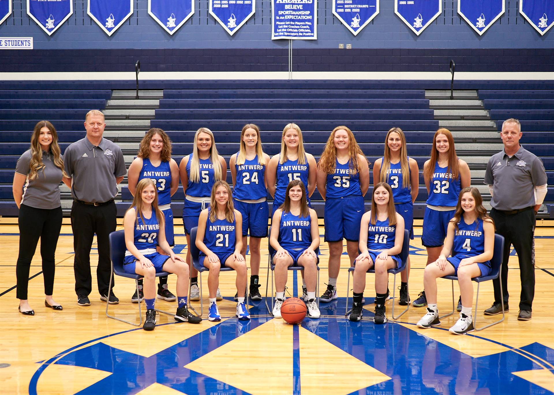 Varsity Girls' Basketball