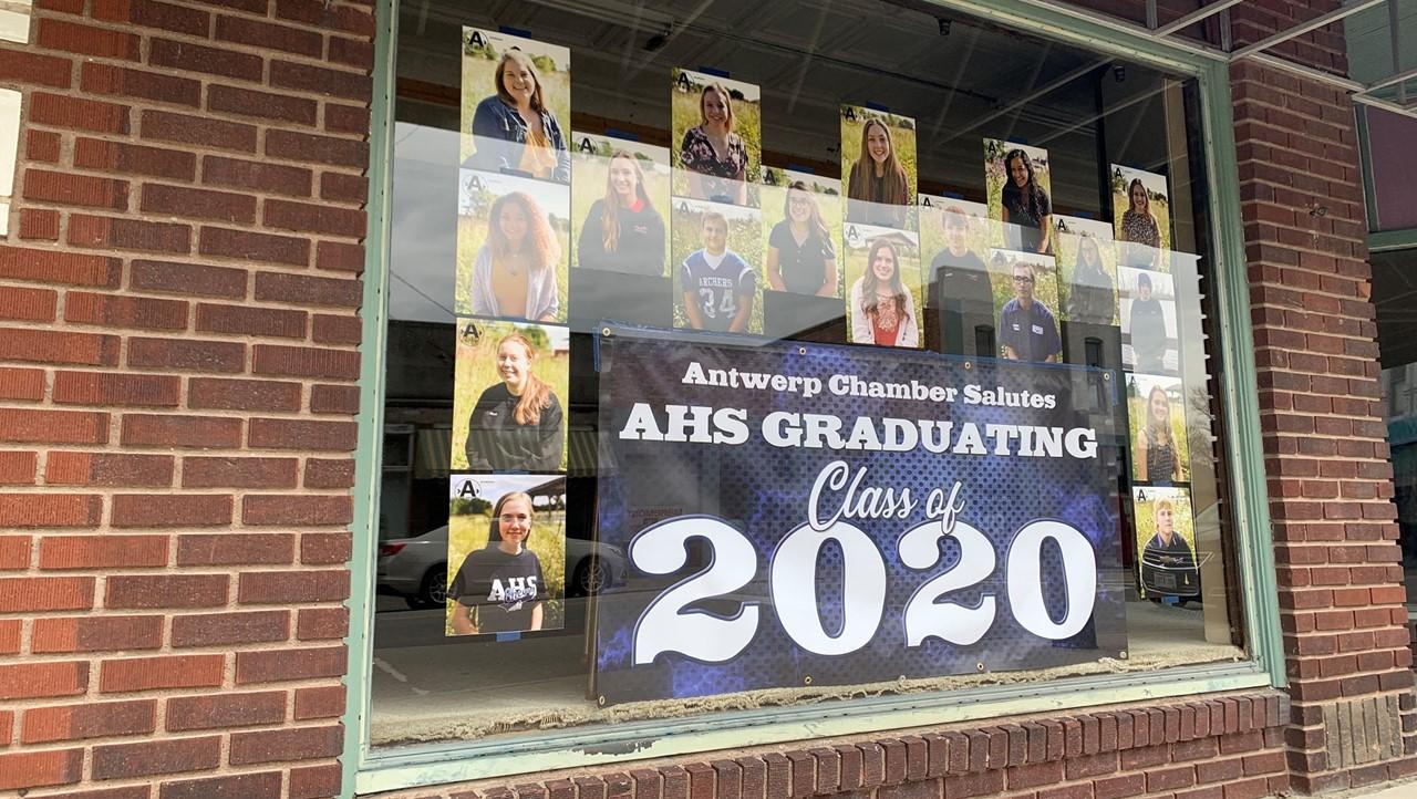 Antwerp Chamber Salutes AHS Graduating Class of 2020