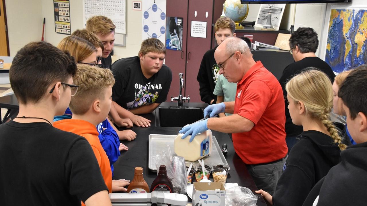 Mr. Tempel's science class